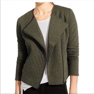 Olive green Moto inspired jacket